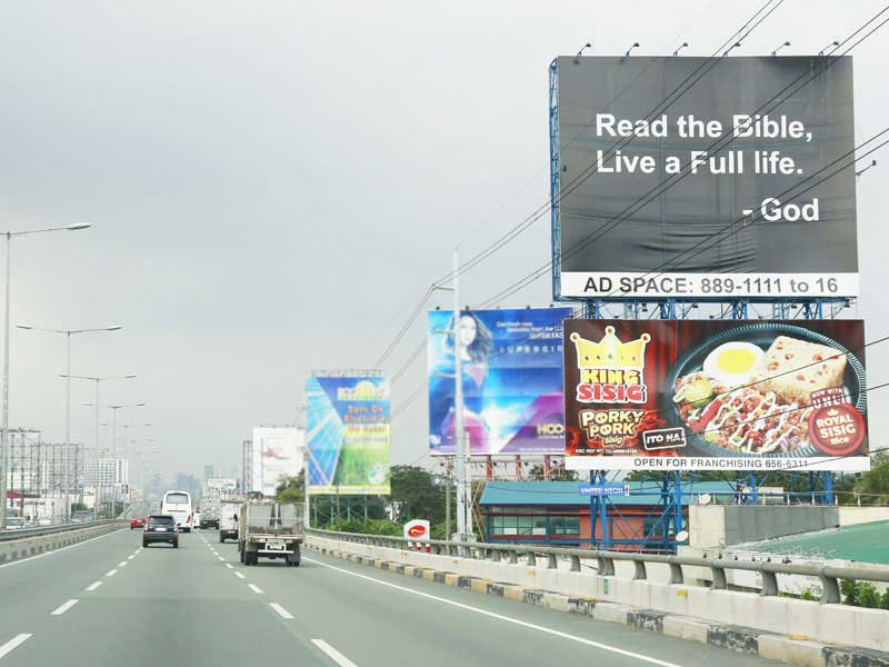billboard ads king sisig