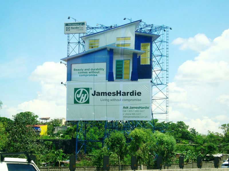 Billboard of James Hardie