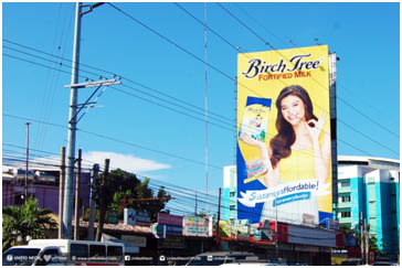 outdoor billboard advertising