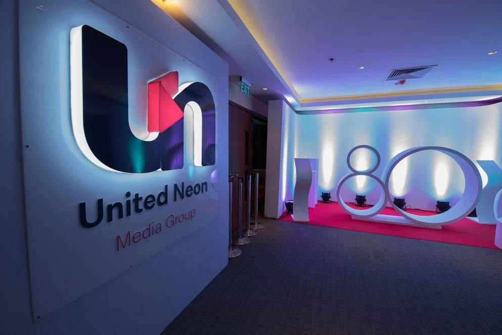 United Neon 80th anniversary