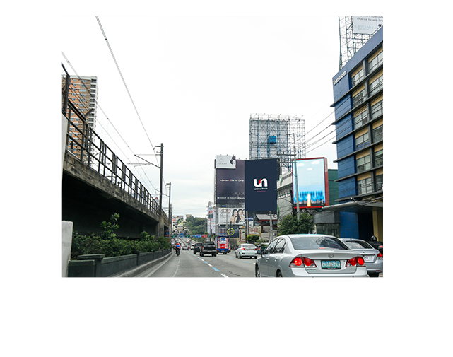 Billboards in Boni Avenue