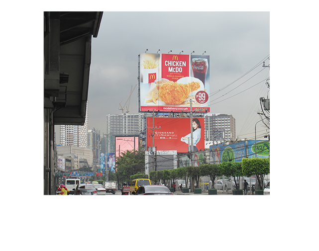 Billboards in EDSA